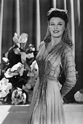 Ginger Rogers Framed Prints - Ginger Rogers, Ca. 1943 Framed Print by Everett