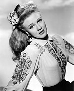 Ginger Rogers Framed Prints - Ginger Rogers Framed Print by Everett