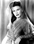 Colbw Framed Prints - Ginger Rogers, In A Paramount Studios Framed Print by Everett