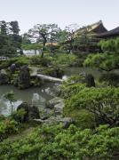 Shogun Photo Prints - Ginkaku-ji Zen Temple - Kyoto Japan Print by Daniel Hagerman