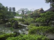 Shogun Photo Prints - Ginkaku-ji Zen Temple No. 1 - Kyoto Japan Print by Daniel Hagerman