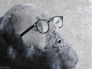 Mosaic Mixed Media Originals - Ginsberg by Ben Jackson