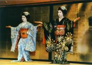 National Treasure Acrylic Prints - Gion Apprentice Geisha - Kyoto Japan Acrylic Print by Daniel Hagerman