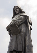 Statue Portrait Prints - Giordano Bruno, Italian Philosopher Print by Sheila Terry