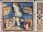Bondone Prints - Giotto: Ascension Print by Granger