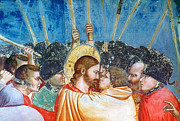 Bondone Prints - Giotto: Betrayal Of Christ Print by Granger