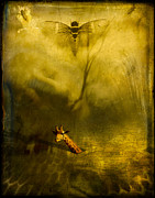 Flypaper Textures Photos - Giraffe and the heart of darkness by Paul Grand