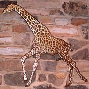 Animal Sculpture Sculptures - Giraffe by Hans Droog