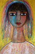 Culture Pastels - Girl from India.. by Renate Dartois