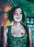 Aleksandra Buha - Girl in Green