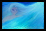 Floating Girl Prints - Girl In His Dreams Print by Sherri  Of Palm Springs