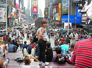 Mark Weber - Girl in Times Square New...