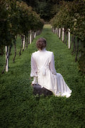 Vineyard Photos - Girl On A Chest by Joana Kruse