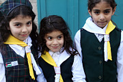 Orthodox Photo Originals - Girl Scouts at Orthodox Christmas Celebration by Munir Alawi
