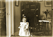 Toys Originals - Girl with 1894 toys by Jan Faul