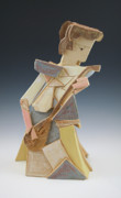 Girl Sculptures - Girl with Mandolin 100 Years by Susan Springer