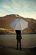 Girls Photos - Girl With Umbrella by Joana Kruse