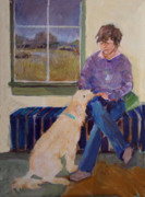 Raining Paintings - Girls Best Friend by Diane Ursin