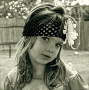 Young Girl Photo Posters - Girls Rule Poster by Gwyn Newcombe