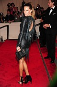 Gisele Bundchen Prints - Gisele Bundchen In Alexander Wang Print by Everett