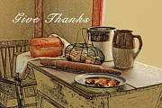 Thanks Posters - Give Thanks Poster by Michael Peychich