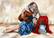Give Thanks Unto The Lord Print by Ilse Kleyn