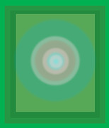 Overlapping Circles Metal Prints - Gl-2 Metal Print by Rajender Negi