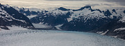 Glaciers Prints - Glacial Panorama Print by Mike Reid
