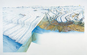 Kettle Moraine Prints - Glaciation Print by Gary Hincks