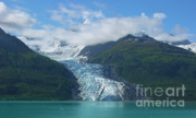 Inside Passage Prints - Glacier Bay Afternoon Print by Sandra Bronstein