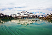 Johnny Sandaire Prints - Glacier Bay in Alaska Print by Johnny Sandaire