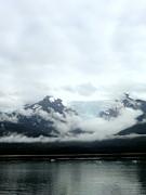 Glacier Mountain Print by Mindy Newman