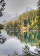 Glacier National Park Prints - Glacier National Park - 2 Print by David Bearden