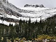 Glacier Park Bowlrock Print by Susan Kinney