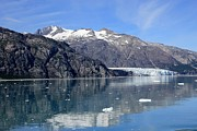 Glacier Bay Prints - Glacier reflection Print by Sophie Vigneault