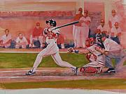 Home Run Paintings - Gladdens Grand Slam by Steven Paul Carlson