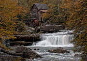 Grist Mill Art - Glade Creek Mill 2011 by Wade Aiken