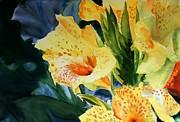 Gladiolus Print by Maria Balcells