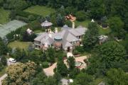 Residential Real Estate Aerial Photographs - Gladwyne Custom House by Duncan Pearson