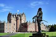Fantasy Photos - Glamis Castle with Statue by Jason Politte