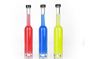 Glass Bottles Print by Joana Kruse