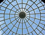 Liberation Posters - Glass Dome at Hall of Liberation at Kelheim  Poster by Lori Seaman