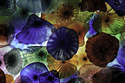 Joseph Duba Metal Prints - Glass Flowers at the Bellagio 2012 Metal Print by Joseph Duba