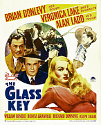 Hairdo Framed Prints - Glass Key, The, Brian Donlevy, Alan Framed Print by Everett