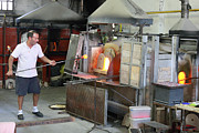 Glass Blowing Art - Glass manufacture in Murano by Paul Cowan