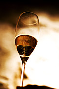 Champagne Photos - Glass of Fire by Royce Gorsuch