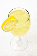 Sweat Prints - Glass of Lemonade Print by Andee Photography