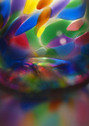 Glass Reflections Framed Prints - Glass Rainbow II Framed Print by Stephen Anderson