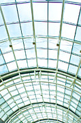 Hall Way Photos - Glass roof by Tom Gowanlock