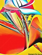 diane Haas - Glass Tulip